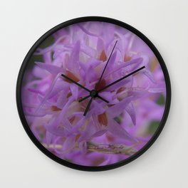The Northwestern Blazing Star Wall Clock