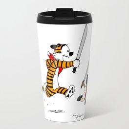 Bonifacio and Hobbes Travel Mug