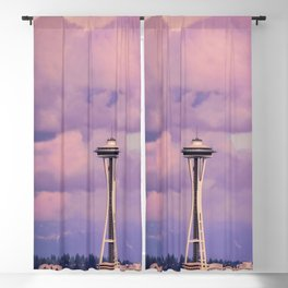 Seattle Space_Needle Blackout Curtain