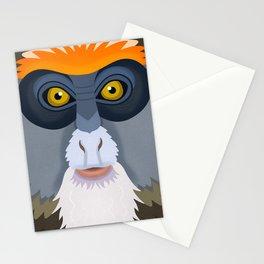 De Brazza's Monkey Stationery Cards