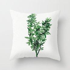 Plant 2 Throw Pillow