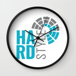 Hardstyle Equalizer   Electro Techno Party Wall Clock
