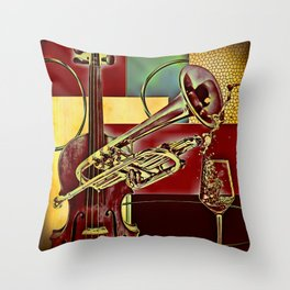 Orchestral Manoeuvres in the Dark Throw Pillow