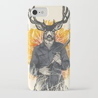 hunting iPhone & iPod Cases featuring Hunting Season by Niel Quisaba