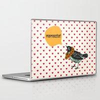 namaste Laptop & iPad Skins featuring Namaste! by Sreetama Ray