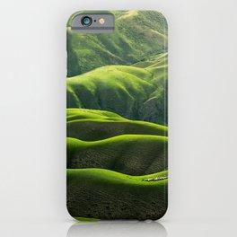 Hill landscape, Hillscape iPhone Case