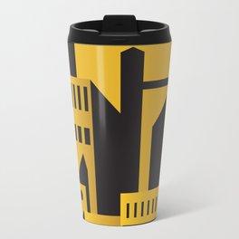 Golden city art deco Travel Mug