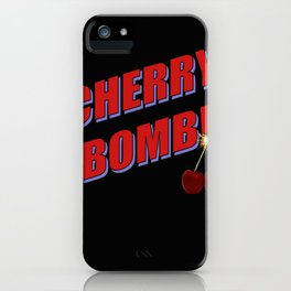 Cherry Bomb: Version 1 iPhone Case