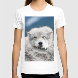 Sleepy Wolf T-shirt