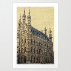 Historical Townhall Art Print
