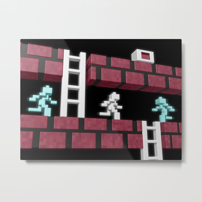Inside Lode Runner Metal Print