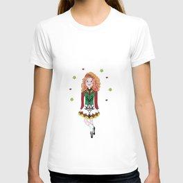 Irish Dancing Girl T-shirt