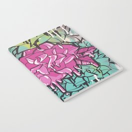 Drip Drop Graffiti Notebook