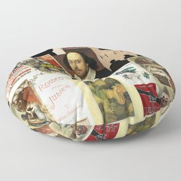 Shakespeare Floor Pillow