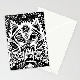 The jaguar Stationery Cards