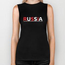 Russia or USA? #society6 #decor #buyart #artprint Biker Tank