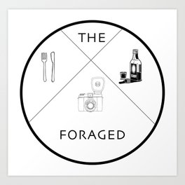 The Foraged Art Print