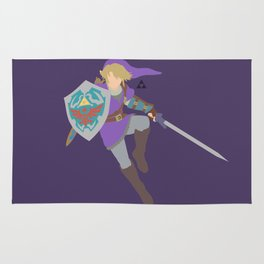 Link(Smash)Purple Rug