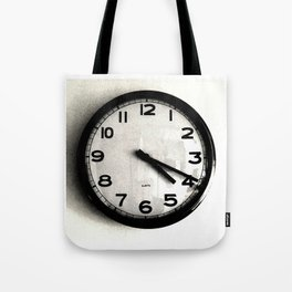 Four Nineteen Clock Tote Bag