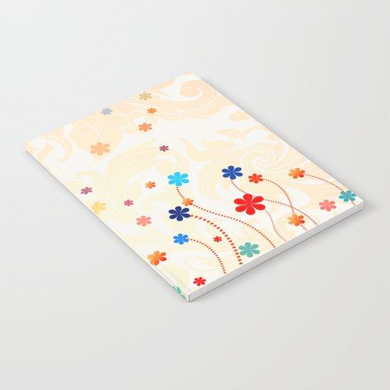 Summer Flowers Notebook