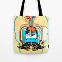 body Tote Bags featuring body by danta