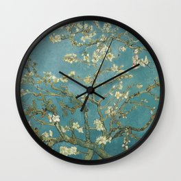 Almond Blossom - Vincent Van Gogh Wall Clock