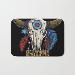 Proud Native American Bath Mat
