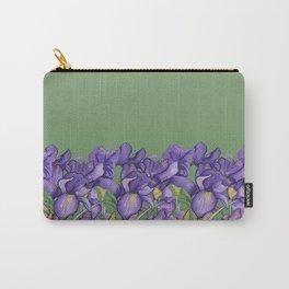 Pretty Purple Petals Carry-All Pouch