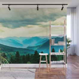 Clouded Beauty Wall Mural
