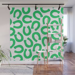 Retro Vintage St Patricks Day Green Luck Gift Decorations Wall Mural