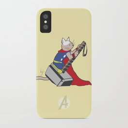 The Catty Thor iPhone Case