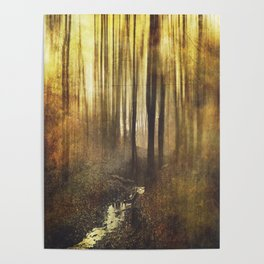 Vintage Woods Poster