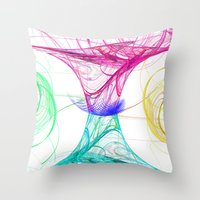candy Throw Pillows featuring candy by haroulita