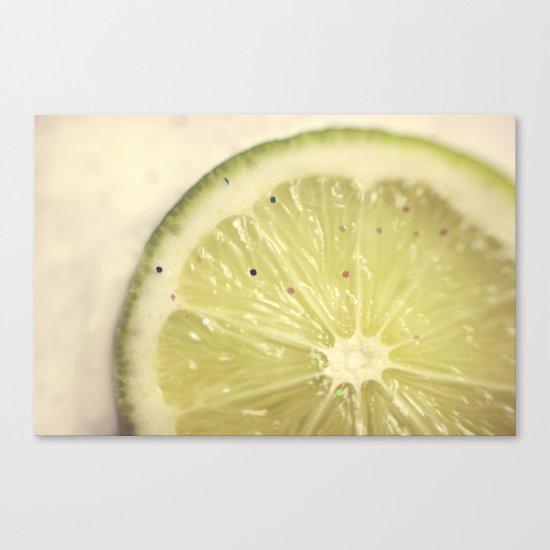 Sour Sparkles Canvas Print