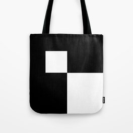 Black and White Color Block #2 Tote Bag