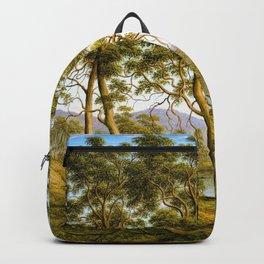 Natives On The Ouse River, Van Diemen's Land - John Glover Backpack