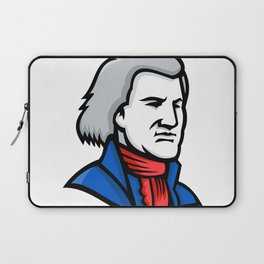 Thomas Jefferson Mascot Laptop Sleeve