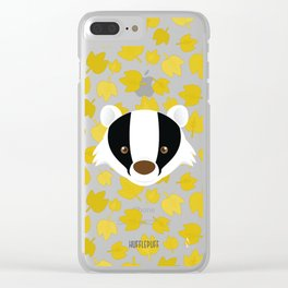 The Badger of Loyalty (Limited 2018) Clear iPhone Case