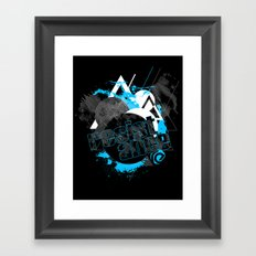 The Shape of Things to Come Framed Art Print