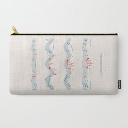 Nautical Notation Carry-All Pouch