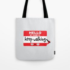 The Red Badge of Discourage Tote Bag
