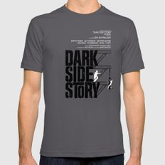 Dark Side Story Asphalt SMALL Mens Fitted Tee