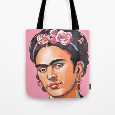 Frida Kahlo - Feminist Icon Tote Bag