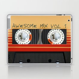 Awesome Mix Cassette Vol.1 Laptop & iPad Skin