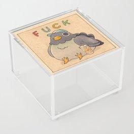 'Fuck' Pigeon 01 Acrylic Box