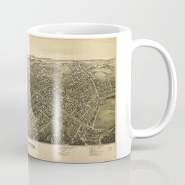 Aerial View of Washington, Pennsylvania (1897) Coffee Mug