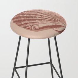 Peach Seashell Bar Stool