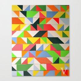 zxv Canvas Print