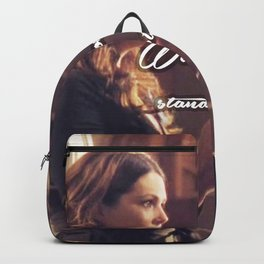 Luke and Lorelai - Stand Still Backpack