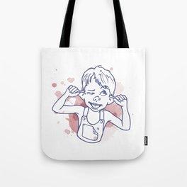 grimace boy Tote Bag